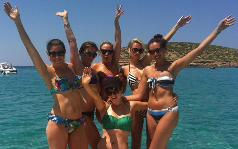 Ibiza boat hire for Hen parties & Stag dos